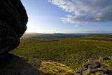 Dartmoor Haytor landscape Fotoprint van Charles Bowman