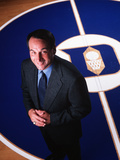 Duke University - Coach K at Center Court Photographic Print