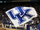 University of Kentucky - UK Flag at Rupp Arena Photo