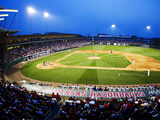University of Arkansas - Game Night at Baum Stadium Fotografisk tryk