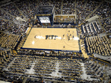 University of Pittsburgh - Overhead Pitt Basketball Photographic Print by Will Babin