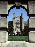 Duke University - Davison Framed by Arch Photo