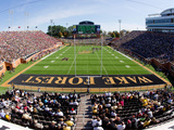 Wake Forest University - BB&T Field - Florida State vs Wake Forest 2011 Fotografisk tryk