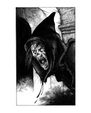 Ghoul Monk (Revenge of the Vampire, Illustration no. 01) Premium Giclee Print by Martin Mckenna