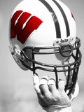 University of Wisconsin - Wisconsin Helmet Photographic Print by Madison / University Communications