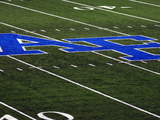 Air Force Academy - AF Logo at Falcon Stadium Photo