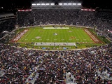 Florida State University - Fans Fill Doak Campbell with Black Fotografisk tryk