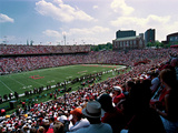 University of Cincinnati - Nippert Stadium on Game Day Poster