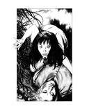 Vampyre (Revenge of the Vampire, Illustration no. 24) Premium Giclee Print by Martin Mckenna