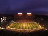 University of Arizona - Arizona Stadium Football Night Game Photographic Print