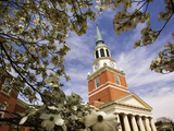 Wake Forest University - Chapel Through the Dogwoods Photographic Print