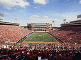 Oklahoma State University - Kansas vs Oklahoma State 2011 Photographic Print