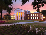 University of Mississippi (Ole Miss) - Lyceum at Dawn Photographic Print