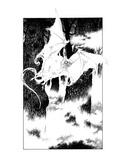 Bat Spectre (Revenge of the Vampire, Illustration no. 03) Premium Giclee Print by Martin Mckenna