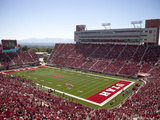 University of Utah - Rice-Eccles Stadium Fotografisk tryk af Richard Greene