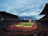 University of Washington - Evening Falls on Husky Stadium Photographic Print