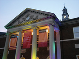 University of Cincinnati - TUC Colorfully Lit Photo