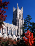 Duke University - Duke Chapel View from Below Photo
