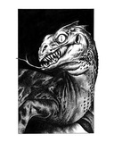 Basilisk (Revenge of the Vampire, Illustration no. 13) Premium Giclee Print by Martin Mckenna