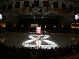 Boston College - Lights on the Ice in the Conte Forum Photographic Print by John Quackenbos