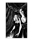Daughters of Darkness (Revenge of the Vampire, Illustration no. 10) Premium Giclee Print by Martin Mckenna