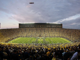 University of Michigan - Under the Lights: Michigan vs Notre Dame Fotografisk tryk