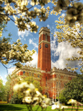Vanderbilt University - Kirkland Hall Fotografisk trykk