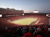 University of Nebraska - Huskers Football Photographic Print
