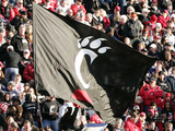 University of Cincinnati - Cincinnati Flag Photographic Print