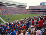 University of Florida - Troy Trojans vs Florida Gators - Ben Hill Griffin Stadium Photographic Print