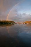 Skye rainbow Premium Giclee Print by Charles Bowman