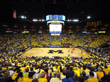 University of Michigan - Michigan 56, Ohio State 51 Photographic Print by Lance King