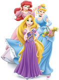 Disney Princesses Group Stand Up