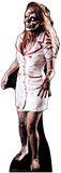 Zombie Nurse Silhouette en carton