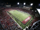 University of Cincinnati - Nippert Stadium, the Home of Bearcat Football Fotografisk tryk