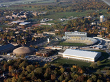 Purdue University - Athletic Facilities Aerial Fotografisk tryk