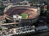 University of Tennessee - Aerial View of a Full Neyland Stadium Photographic Print