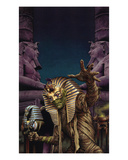 Curse of the Mummy Premium Giclee Print by Martin Mckenna