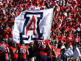 University of Arizona - Arizona Flag Photographic Print