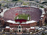 Florida State University - Doak Campbell Stadium Aerial View Photographic Print