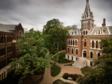 Vanderbilt University - Benson Hall at Vanderbilt Photographic Print