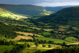 landscape Wales Fotoprint van Charles Bowman