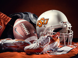 Oklahoma State University - Oklahoma State Football Photographic Print