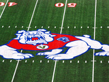 California State University, Fresno - Logo on the Field at Bulldog Stadium Photo