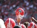 University of Georgia - Georgia Football Helmet Raised High Posters