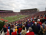 University of Mississippi (Ole Miss) - Vaught-Hemingway Stadium on Game Day Photographic Print by Matthew Sharpe
