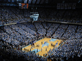 University of North Carolina - UNC vs Duke in the Dean E. Smith Center Photographic Print