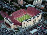 University of Nebraska - Aerial View of Memorial Stadium Photographic Print