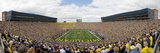 University of Michigan - Michigan Stadium on Game Day Panorama Photographic Print
