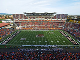 Oregon State University - Reser Stadium on Game Day Fotografisk tryk